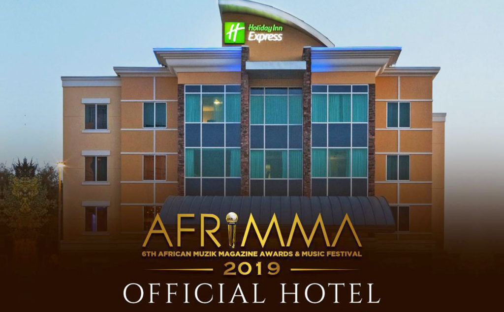 Official hotel for Afrimma 2019 - Holiday Express
